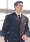 SKU# IBV500 Alberto Cellini 4 Buttons Exclusive Vested Tuxedo + Shirt + Bow Tie $199