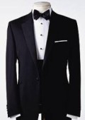 SKU# TP-09 Amazing Quality Beautiful Design  One 1 Button Tuxedo Super 150's premeier quality italian fabric Design $199