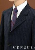 3 Buttons Wool Blend Suit