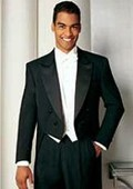 Full Dress Black Tailcoat