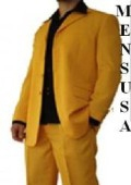 SKU# QLD316 Beautiful Mens Gold/Mustard/Yellow Fashion Dress With Nice Cut Smooth Soft Fabric $115