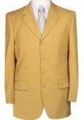 SKU# GT4 Beautiful Mens Gold~Bronz Fashion Dress With Nice Cut Smooth Soft Fabric $139