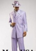 SKU# MUL4 Beautiful Mens Lavender Fashion Dress With Nice Cut Smooth Soft Fabric $139