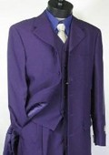 Mens Purple Longer Fashion