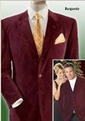 mens three button velour