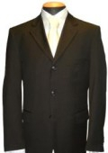 SKU# KL-0P9 Black Men's Single Breasted Discount Dress 2or3or4 Button Suit $79