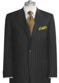 Black Chalk Pinstripe Super