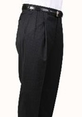 Pinstripe Parker Pleated Pants