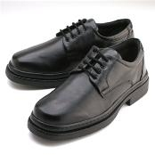 Black Plain-toe four eyelet