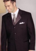 SKU# DB203 Brand New 3 Button Tuxedo Jacket + Pants $99