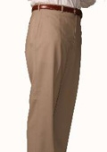 SKU#PZ0962 British Tan Bond Flat Front Trouser $99