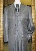 Button 3 Piece Grey