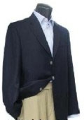 3 Button Navy Blue