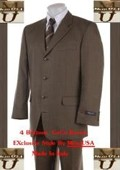 4 Buttons Mens Suits