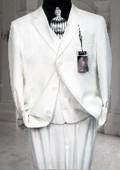Men's White Linen Pants