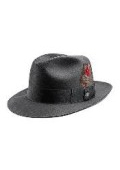 Charcoal Untouchable Fedora Hat