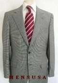 Checker houndstooth fabric Checker Pattern Suit Comes in 4 Colors $199