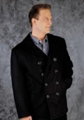 Mens Navy Pea Coat
