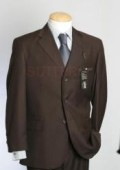 SKU# LZ227 CoCo Brown Real Super 150's Wool premier quality italian fabric Design $199