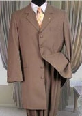 Fashion Zoot Suit Tan~Beige~khaki