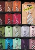 Satin Dress Shirt Tie