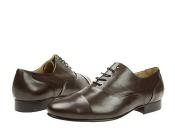 Dark Brown Classic cap-toe