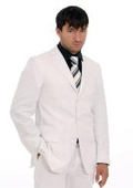100% Geneve White Suit