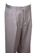 SKU#QE324 Dress Pants Beige Wide Leg $99