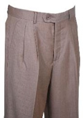 SKU#AD510 Dress Pants Gold Shadow Stripe Wide Leg Wool $99