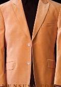 Orange~Peach VELVET SPORT COAT