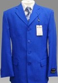 Mens Classic Fit Sharkskin