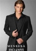 SKU#R+B Emi_Ts24 Exclusive 1 One Button Style Mens Dress Suit Come in 4 Colors $125