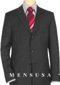 SKU# WBL657 Extra Long Charcoal Gray Suits in Super 150s premeier quality italian fabric Wool Suit MensUSA Exclusive Line, Vented $199