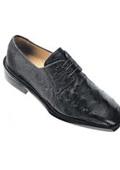 Men exotic skin shoes