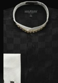 Banded Collar French Cuff