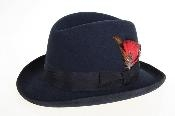Mens Wool Felt Fedora