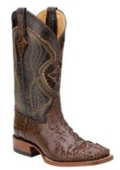Mens Hornback Alligator S-Toe