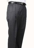Windowpane Parker Pleated Pants