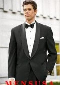 SKU# MT1S High Quality Mens One button Shawl Tuxedo Made of Worsted Vergin Wool $299