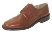 India Captoe blucher Leather