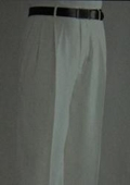SKU#UZ1086 Ivory Wide Leg Dress Pants $59
