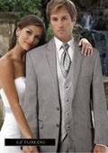 SKU#JX8890 Jean Yves Savoy Grey Tuxedo $256