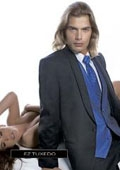 SKU#JY13784 Jean Yves Twilight Black Tuxedo $256