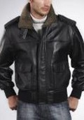 Mens Cowhide Leather Flight