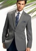 Gray 2 Button Jacket