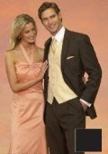 Light Weight Two Button CoCo Brown Notch Wedding Suits As seen IN Bridal Magazin $159