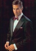 SKU# KM-21 Luxurious 1-button Peak, Satin lapels, Single-breasted $695