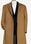 Harward Luxurious Camel~Bronz soft finest grade of Cashmere & Wool Overcoat $249