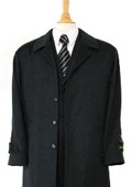 Zilos~Sloan Luxurious high-quality Cashmere&Wool half-length notch lapel Charcol Gray topcoat $199