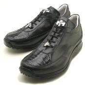 Black Genuine Crocodile/Nappa $249